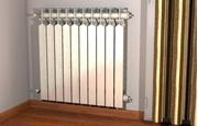 Immagine di Mensola per radiatori in alluminio RC / RX / TF