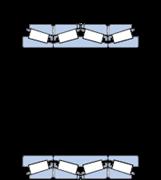 Immagine per la categoria Cuscinetti a quattro corone di rulli conici con design TQI